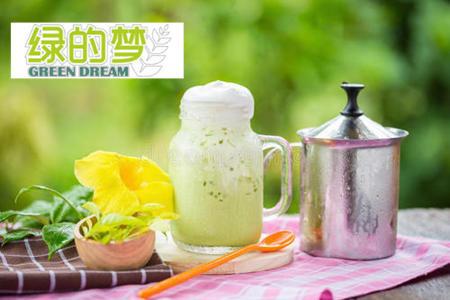 抖音绿的梦奶茶加盟